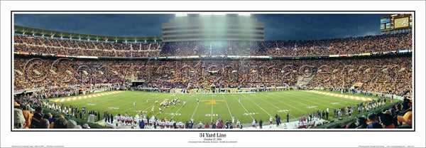 TN-134 Tennessee Volunteers 34 Yard Line