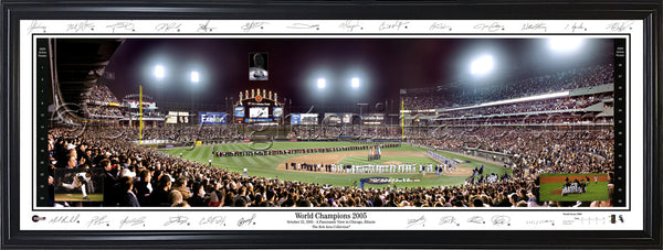 IL-180 White Sox 2005 World Champions with signatures