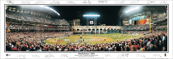 TX-184 Astros 2005 World Series with signatures