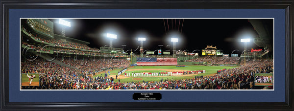 MA-216  Red Sox 2007 World Series Champions with signatures