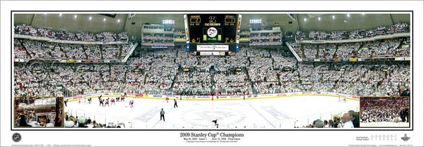 PA-258 2009 Penguins Stanley Cup Champions with inserts