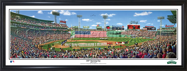 MA-315 Red Sox 100th Opening Day at Fenway Park