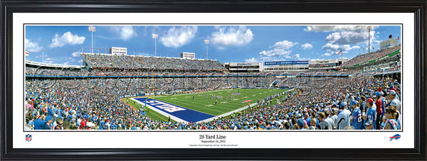 NY-325 Buffalo Bills 28 Yard Line
