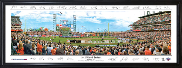 CA-330 SF Giants 2012 WS with signatures