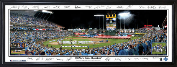 MO-392a 2015 World Series Champions with signatures