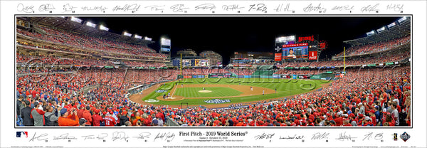 DC-437 First Pitch - 2019 World Series® - signature edition