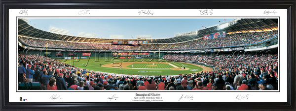 DC-95a Nationals Inaugural Game with facsimile signatures