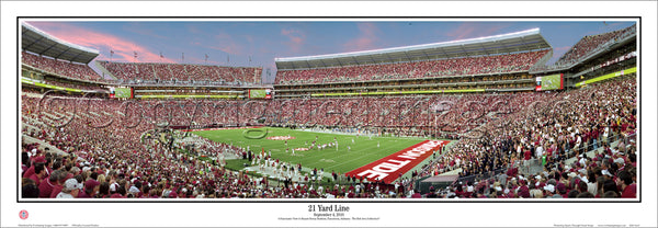 AL-287 Alabama - 21 Yard Line