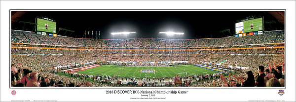 AL-334 Alabama - 2013 Discover BCS National Championship Game
