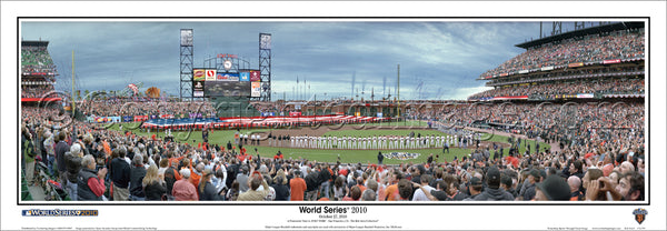 CA-291 SF Giants 2010 World Series