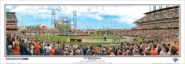 CA-329 SF Giants 2012 World Series