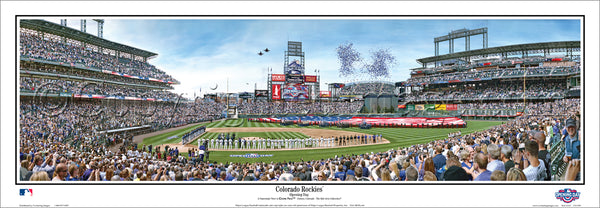 CO-399 2016 Opening Day at Coors Field