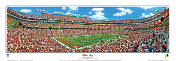 DC-326 Redskins 6 Yard Line