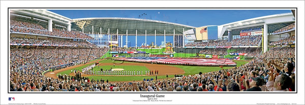 "FL-317 Miami Marlins ""Inaugural Game"""