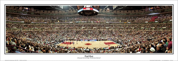 IL-116 Chicago Bulls Foul Shot