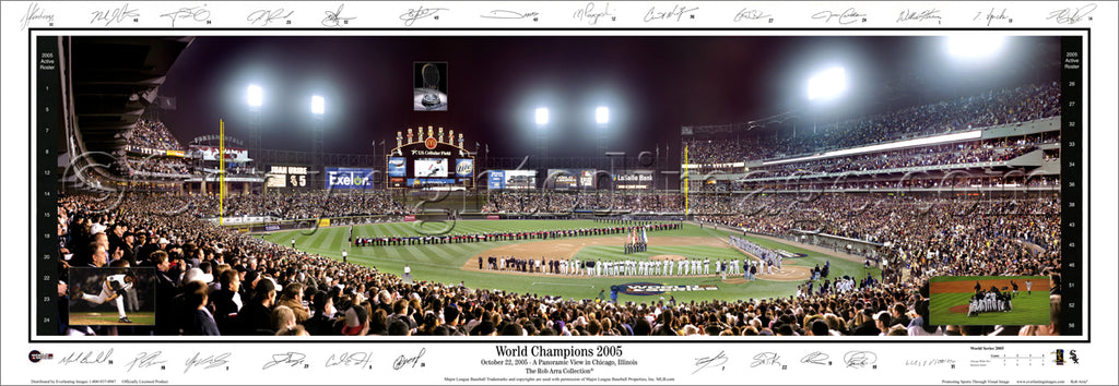 IL-180 White Sox 2005 World Champions w/ signatures.