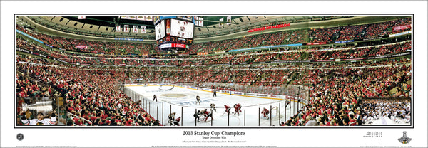 IL-343 Blackhawks 2013 Stanley Cup Champions with inserts