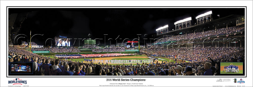 IL-415 Chicago Cubs 2016 World Series Champions w/o signatures
