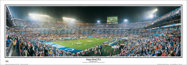 IN-204 Colts Super Bowl XLI