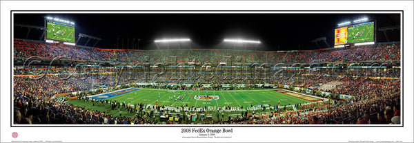 KS-222 Kansas Jayhawks 2008 FedEx Orange Bowl