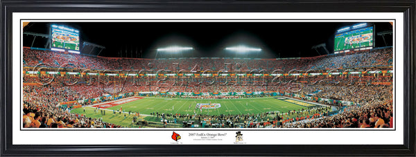 KY-5a Louisville Cardinals 2007 FedEx Orange Bowl