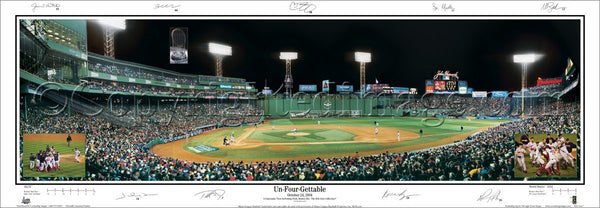 "MA-164 2004 World Series ""Un-Four-Gettable"""
