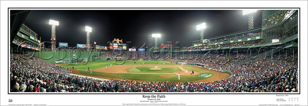 MA-166 Red Sox - Keep The Faith - 2004 World Series