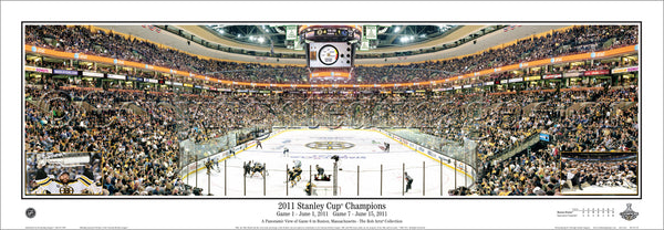 MA-301LE Bruins 2011 Stanley Cup Game 6 with inserts