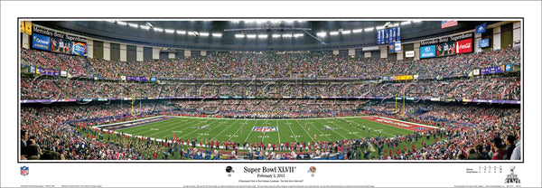 MD-337 Super Bowl 47 Ravens vs 49ers