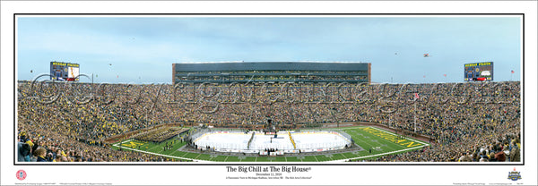 MI-295 Wolverines vs. Spartans The Big Chill at the Big House