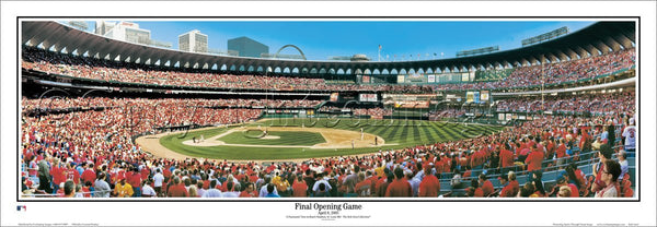 "MO-173 ""Final Opening Game"" St. Louis Cardinals"