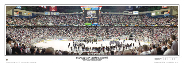 NJ-126A Devils 2003 Stanley Cup Champions