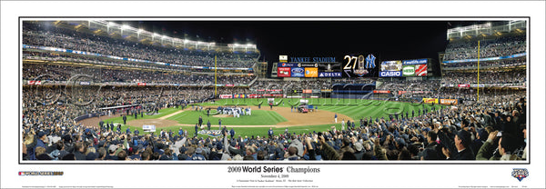 NY-261 Yankees 2009 World Series Champions