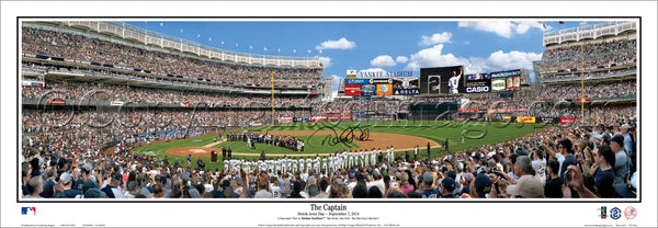 NY-364a Yankees Derek Jeter Day with facsimile Signature