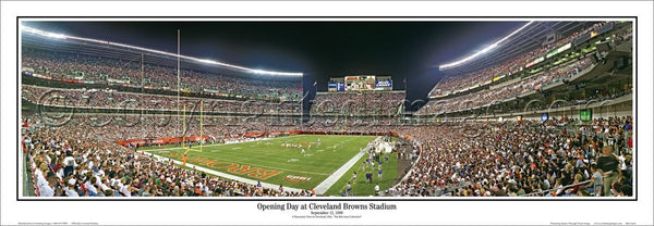 OH-120 Opening Day at Cleveland Browns Stadium