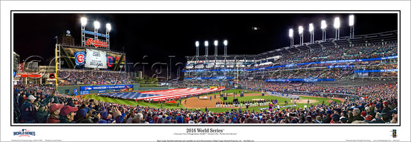 OH-411 Opening Ceremony 2016 World Series at Progressive Field