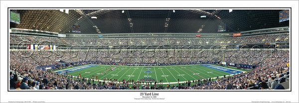 "TX-34 Dallas Cowboys ""23 Yard Line"""