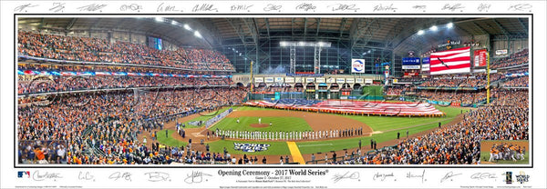 TX-419a Astros 2017 World Series Opening Ceremony - Signature Edition
