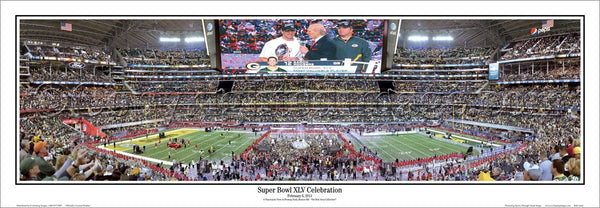 "WI-299 Super Bowl 45 ""Super Bowl XLV Celebration"""
