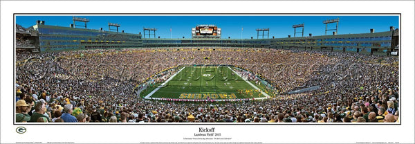 "WI-388 Green Bay Packers ""Kick Off"""