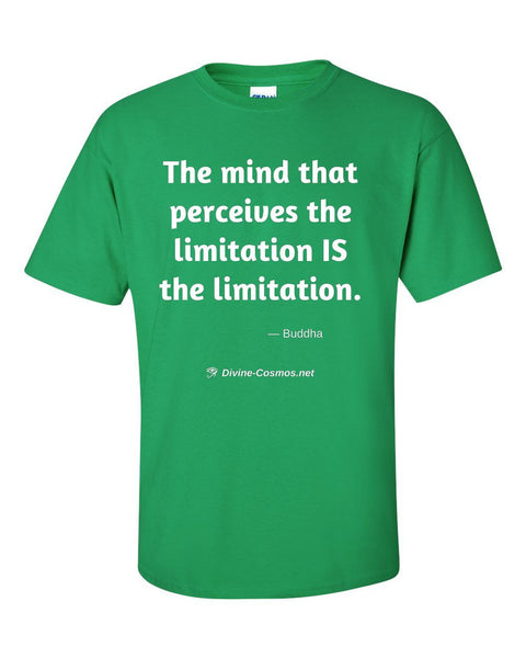 """The Mind That Perceives The Limitation"" short sleeve t-shirt"