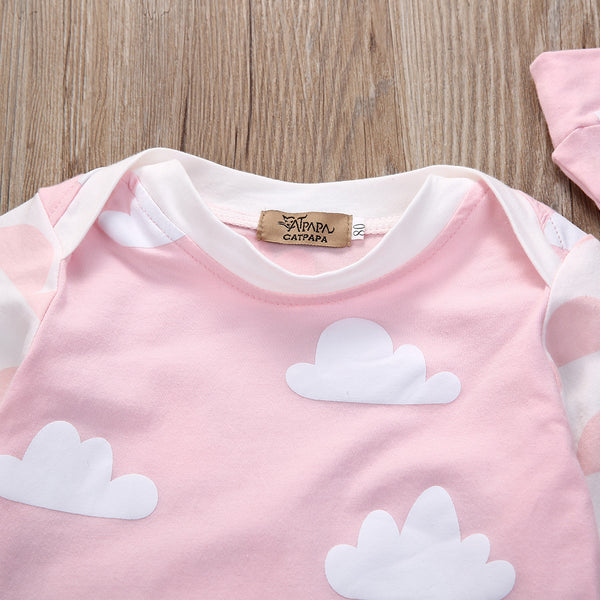 Pink Clouds Set - petitelapetite