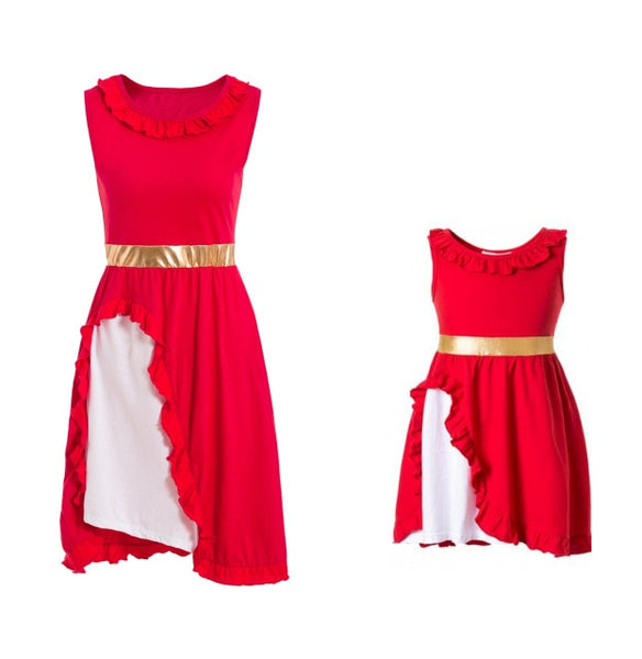 Assorted Matching Cosplay Dresses for Mother & Daughter - Petite La Petite