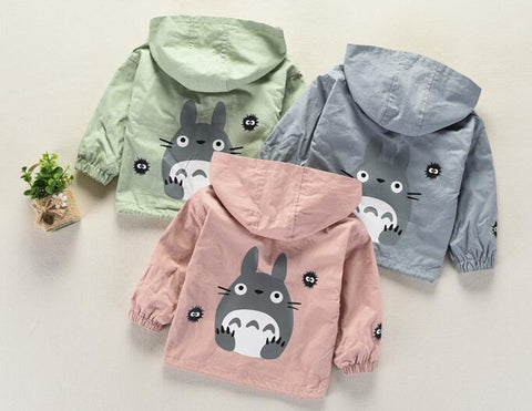 Anime Hooded Jackets - ages 1 to 4 years