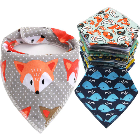 Assorted Cloth Bandana Bibs - Petite La Petite
