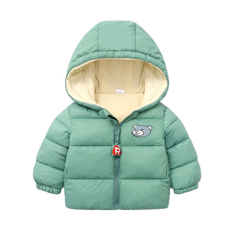 Thickened Down Winter Coat - Babies 9 to 24 months - Petite La Petite