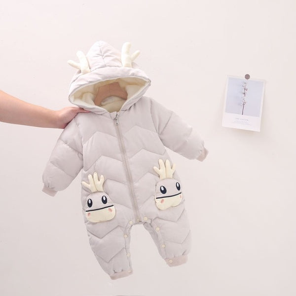 Winter Cartoon Animal Snowsuit Coat - babies 0 to 24 months - petitelapetite