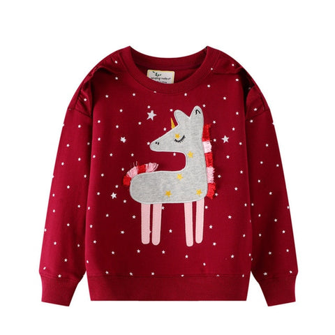 Assorted Long Sleeve Winter Sweatshirts (ages 1 to 7) - Petite La Petite