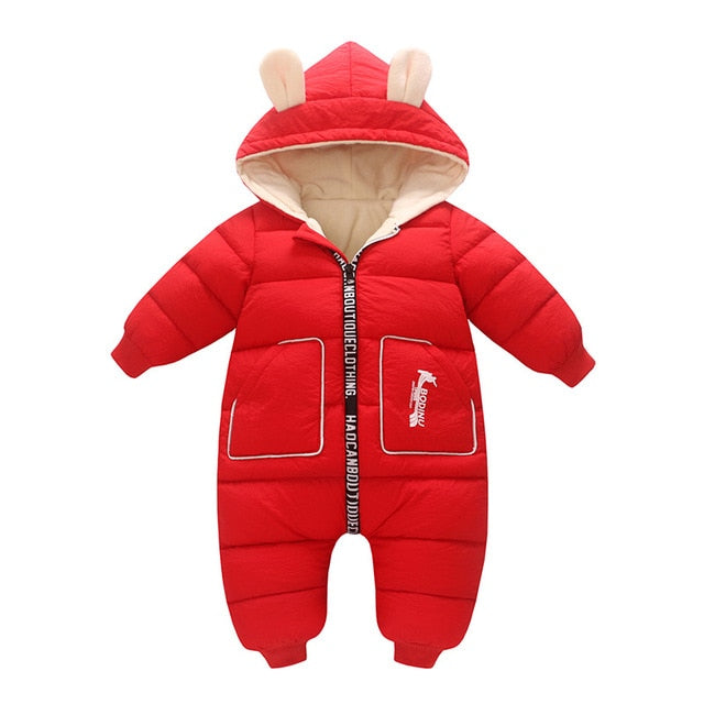 Assorted Winter Bunny Snowsuit - ages 6M to 3YRS - petitelapetite