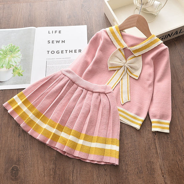 Baby Pink Sailor Outfit Set - 2 to 6 years - Petite La Petite